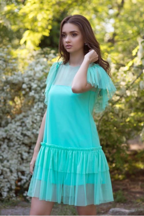 Платье 3421 мята